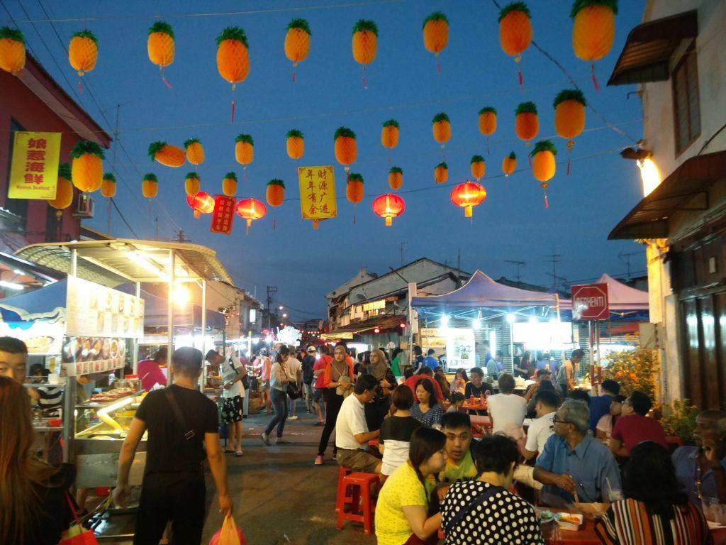 night market malacca