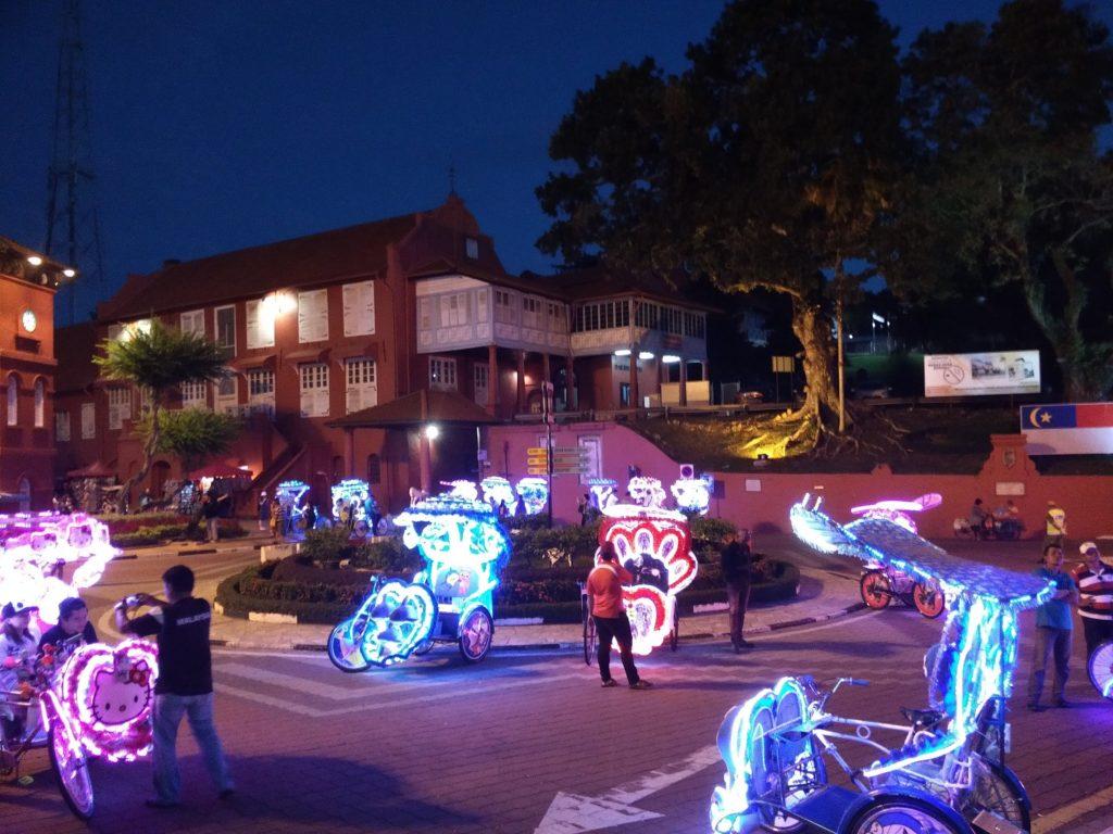psychedelic trishaws malacca