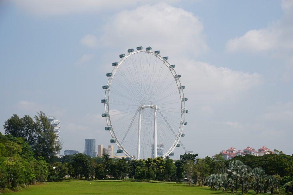 singapore flyer singapour
