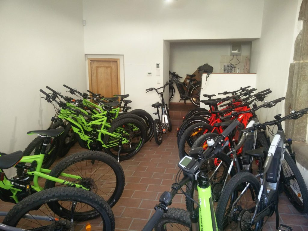 e bikes for rent south bohemia
