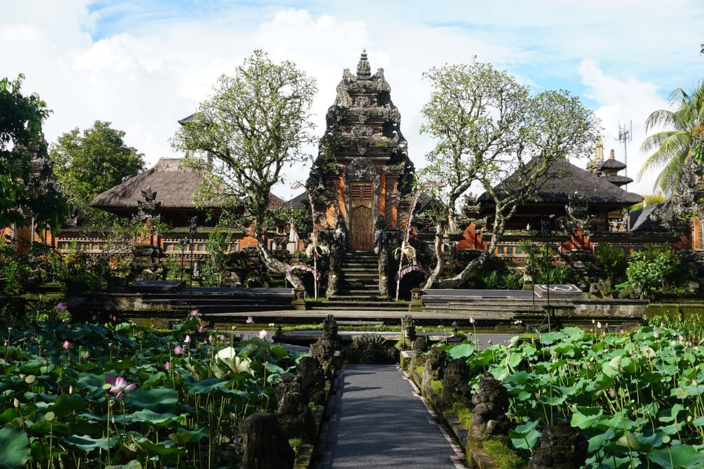 saraswati temple ubud bali