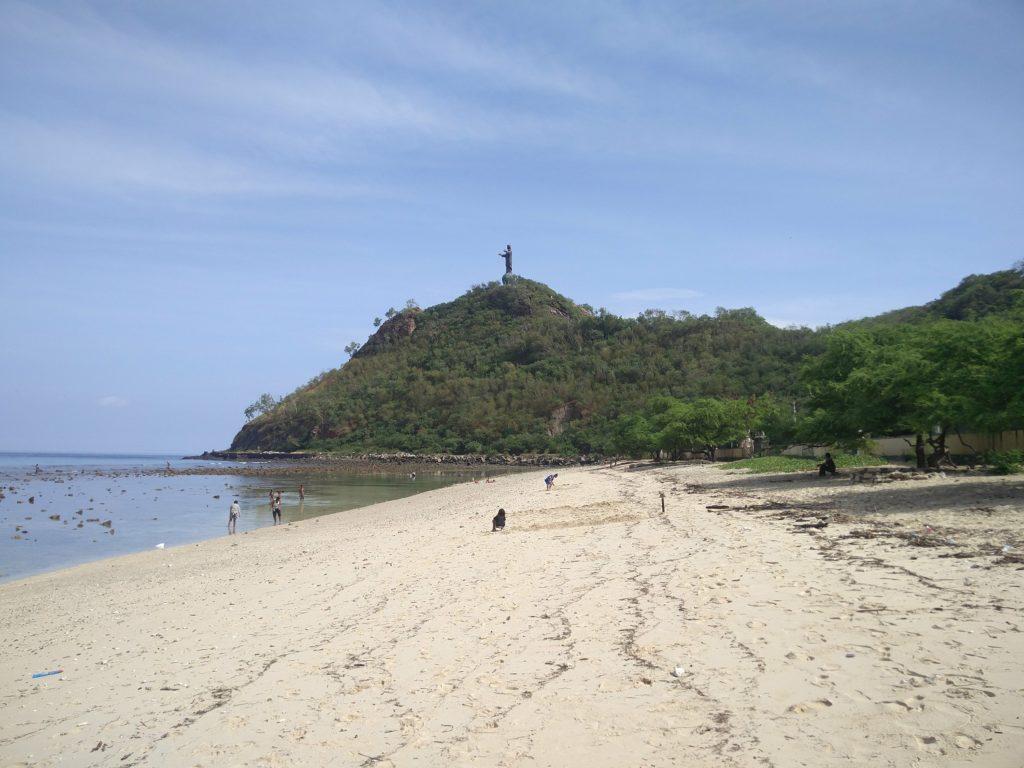 beach dili east timor