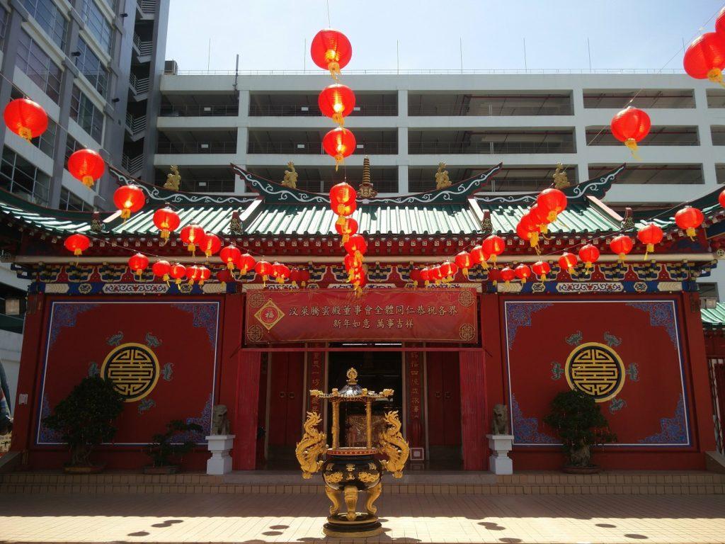 teng yun temple brunei