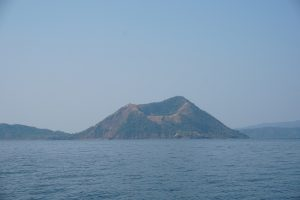 Visit to the Taal volcano in the Philippines