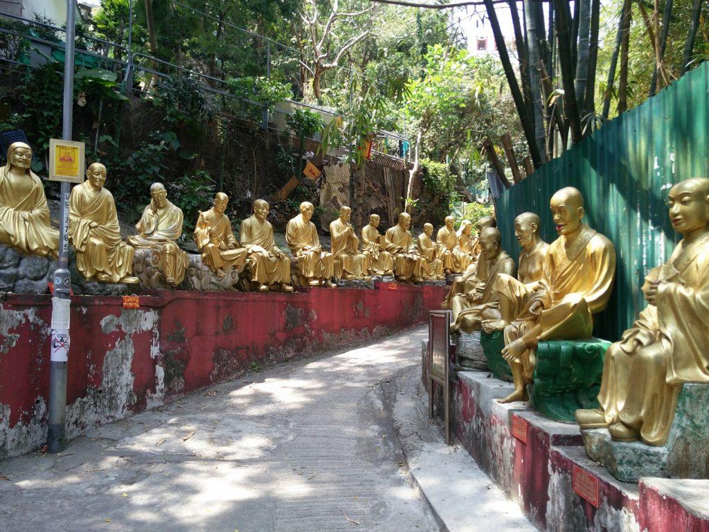 monastere des 10000 bouddhas hong kong