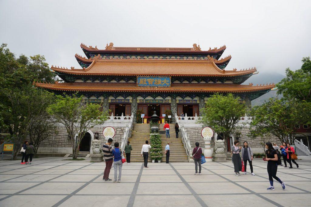 monastere po lin hong kong