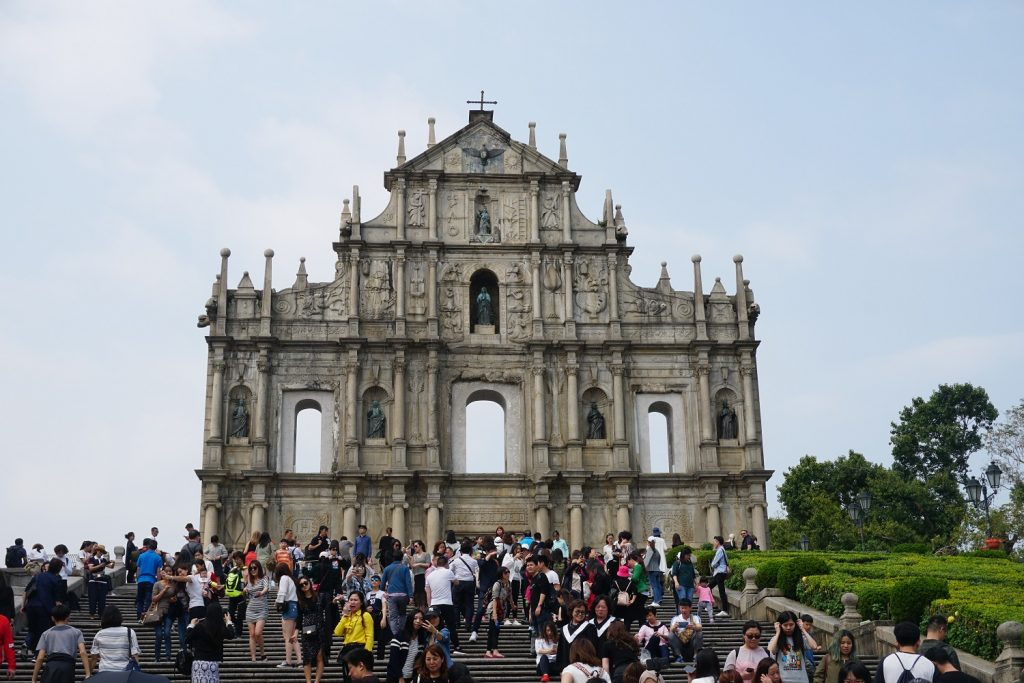 ruins of st. paul's macau