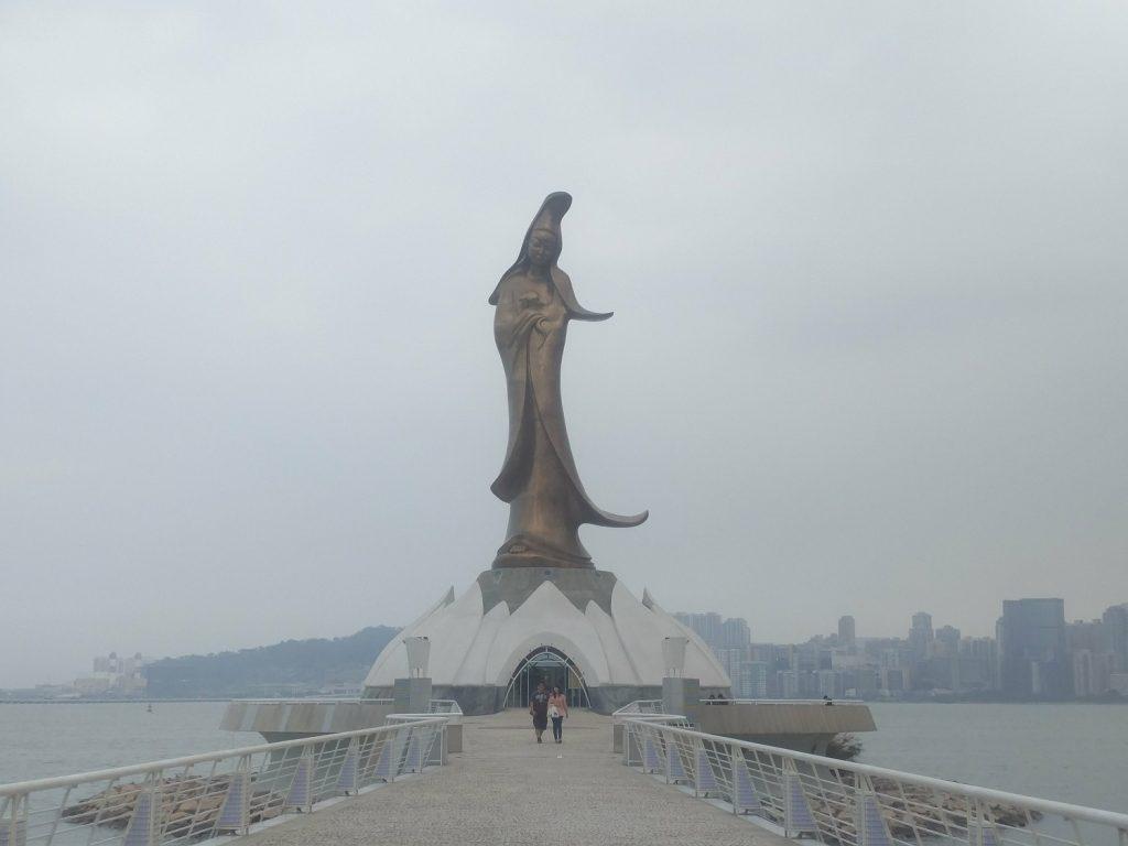 statue de kun iam macao