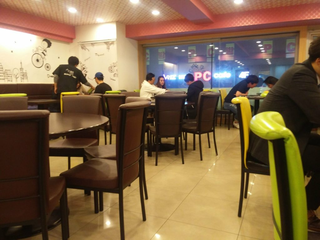 board game café coree du sud