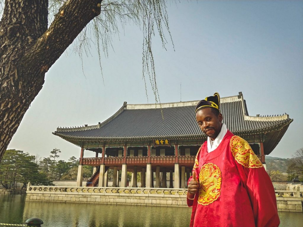 palais de Gyeongbokgung seoul