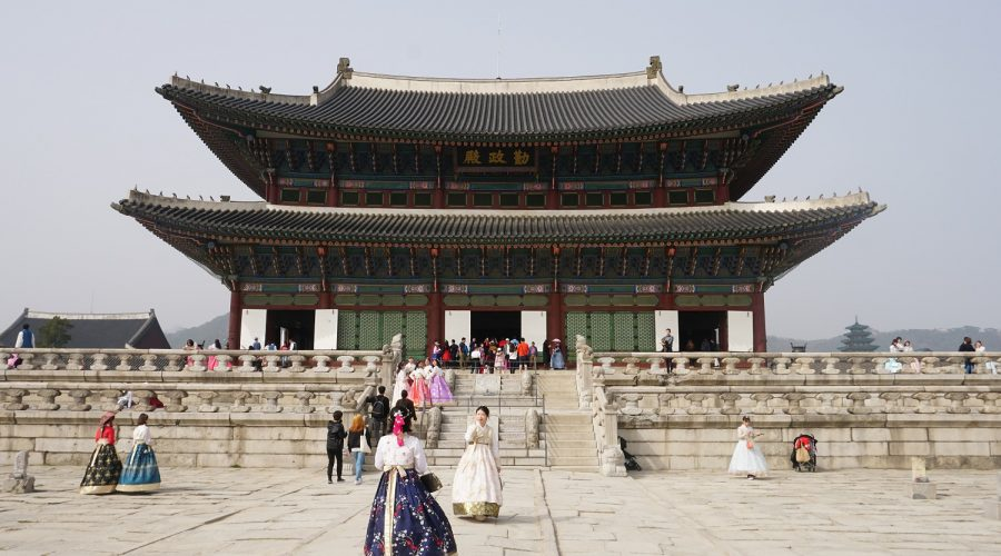 Visit of Seoul in South Korea