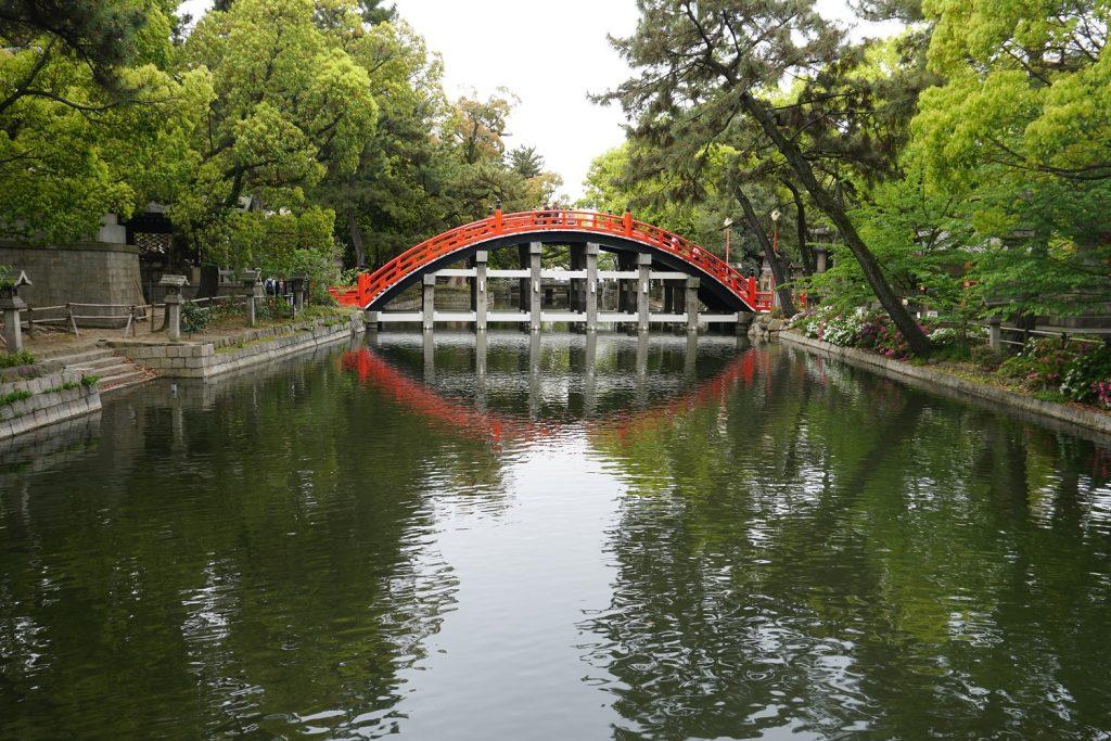 sumiyoshi-taisha canal osaka