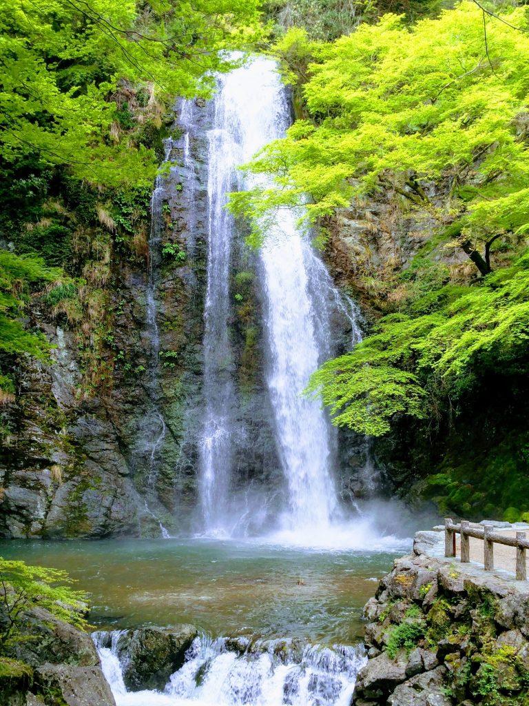 mino falls osaka