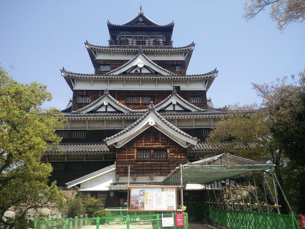 chateau de hiroshima
