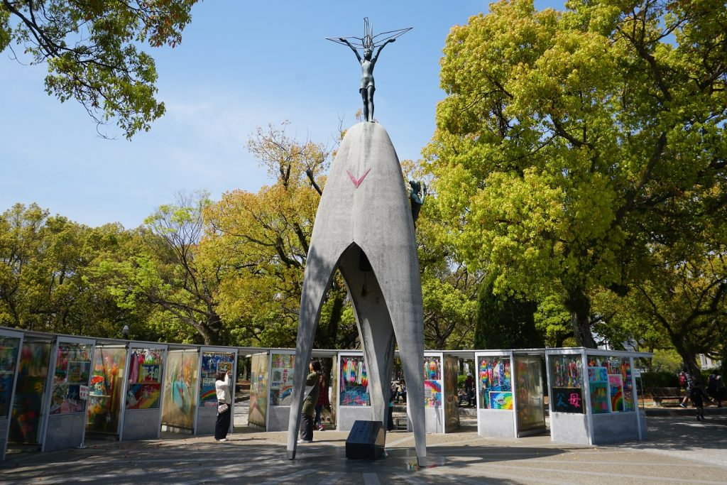 monument de la paix des enfants hiroshima