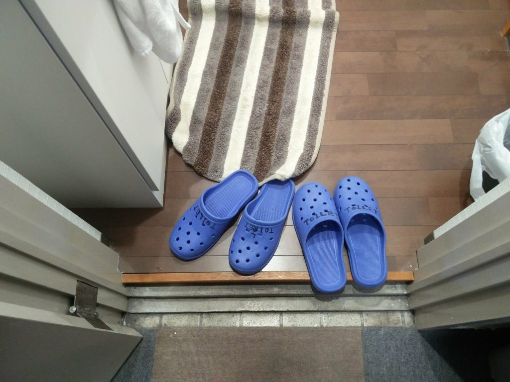 slippers toilets japan