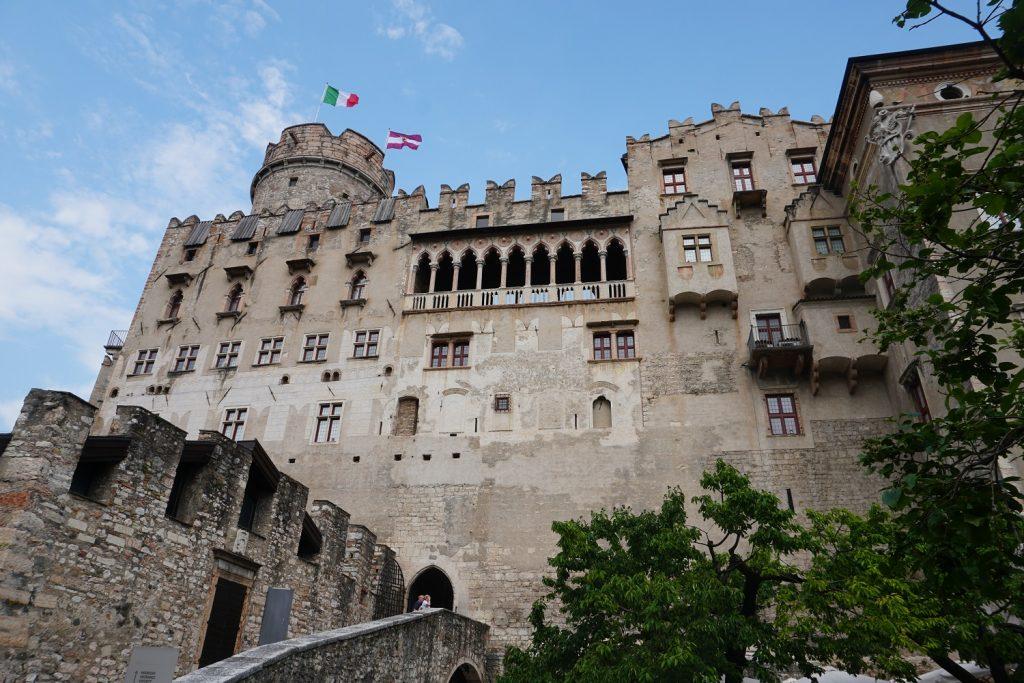 Castello di Buonconsiglio trento italy