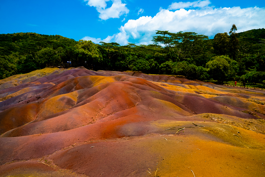 seven colored earth mauritius