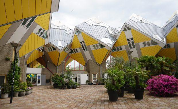 maison cubique rotterdam