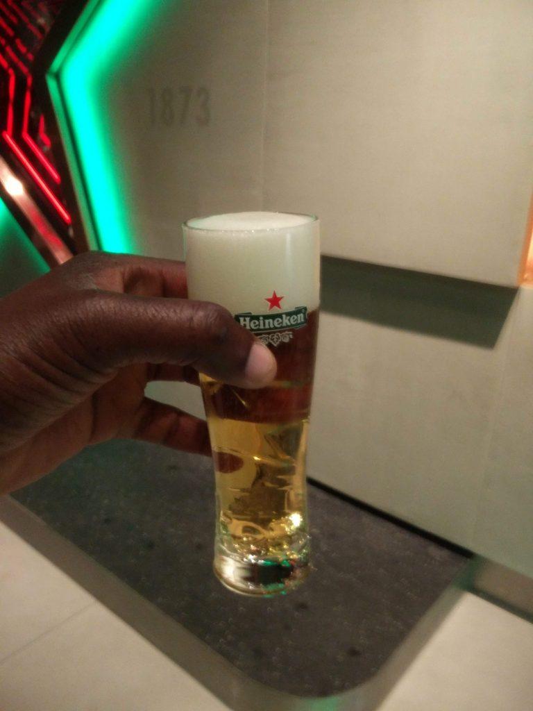 beer heineken experience