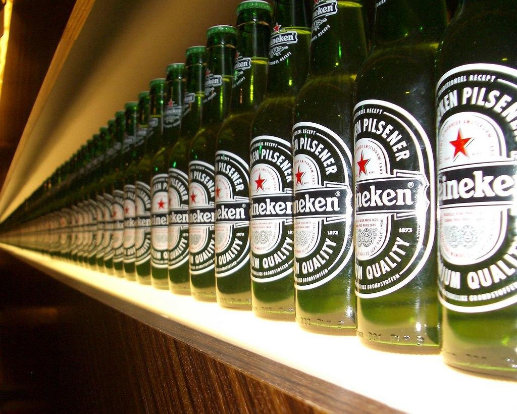 bottles heineken experience amsterdam