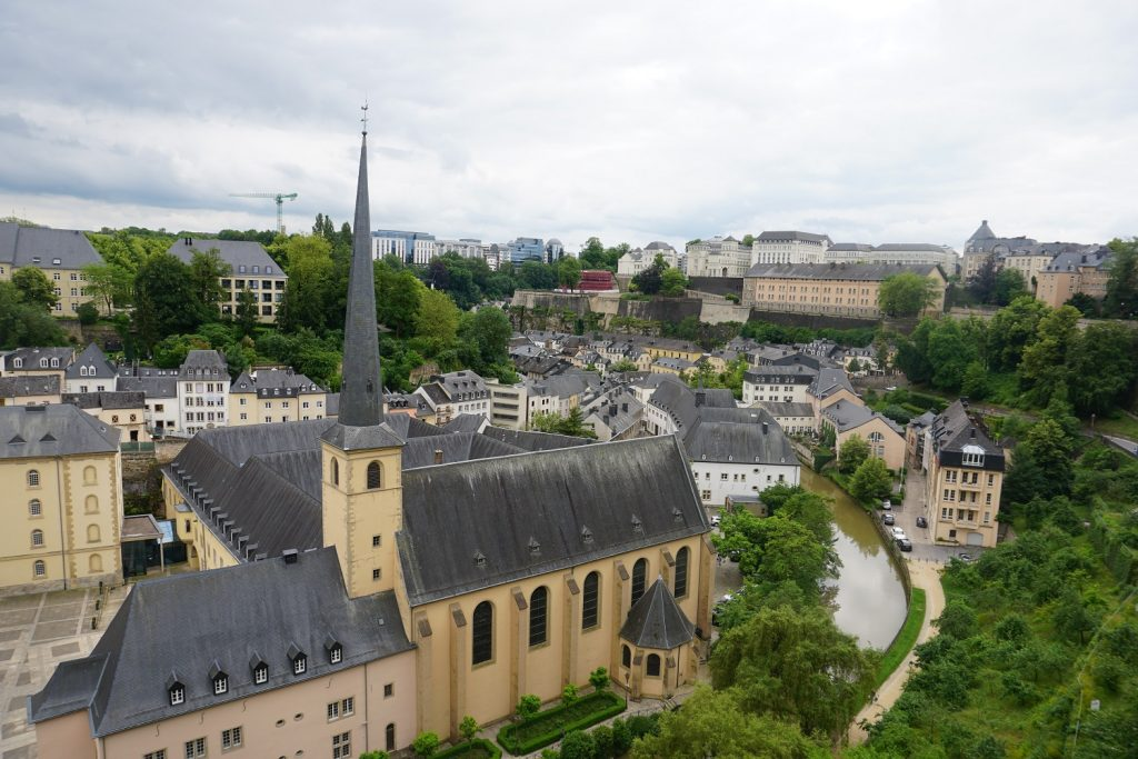 chemin de la corniche luxembourg ville