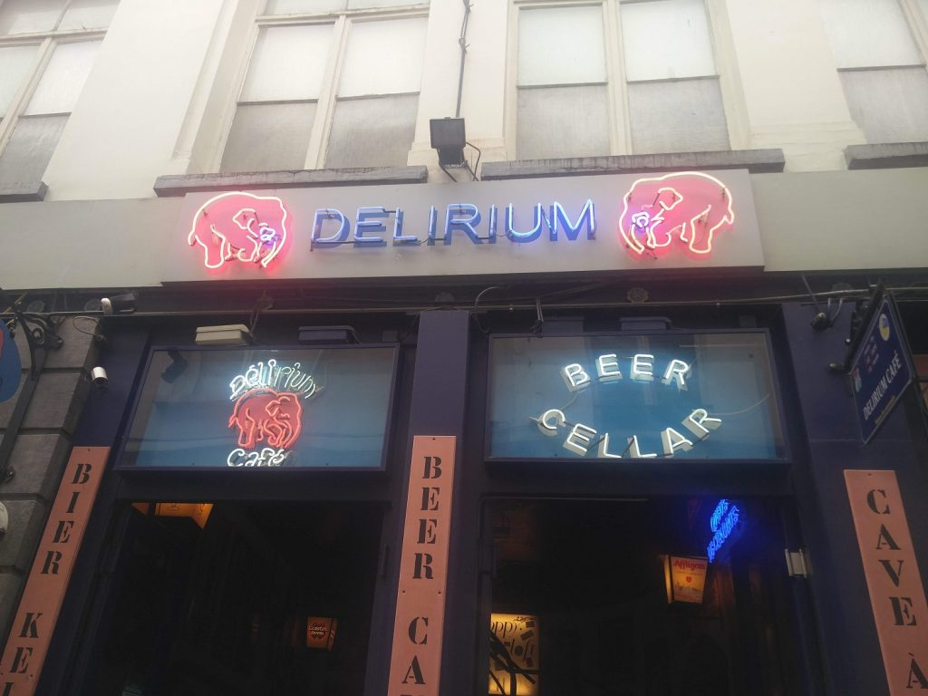delirium bar brussels