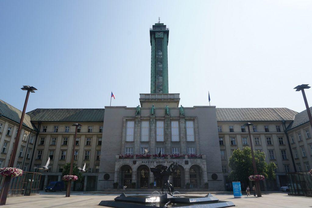 city hall ostrava