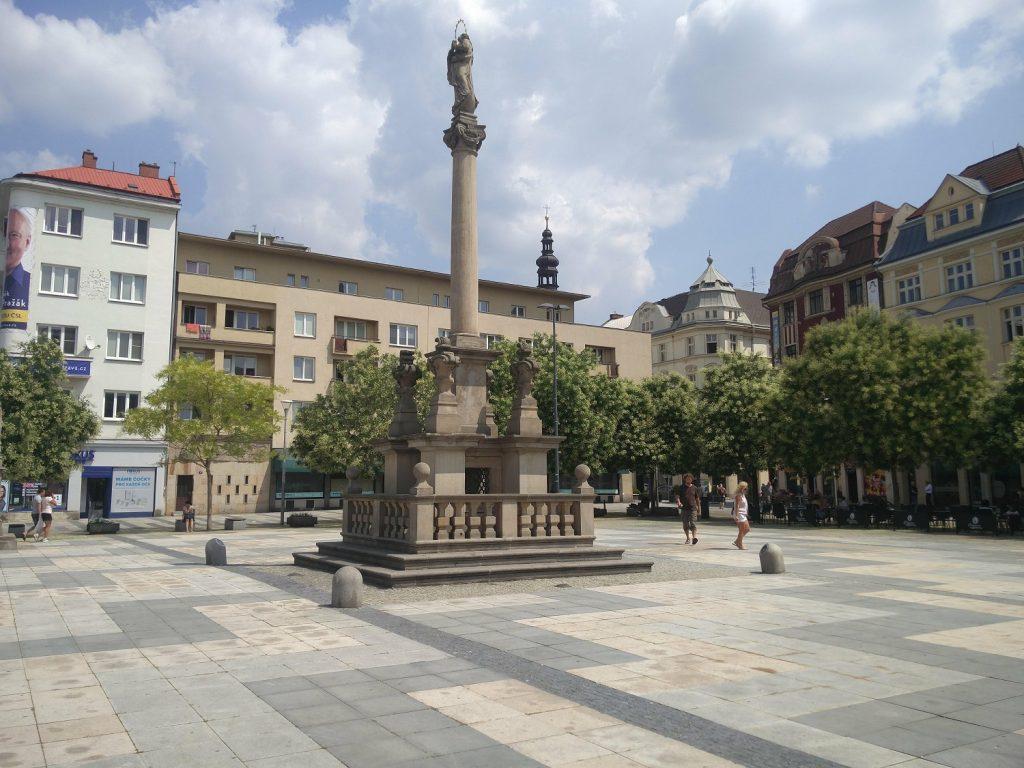 masaryk square ostrava