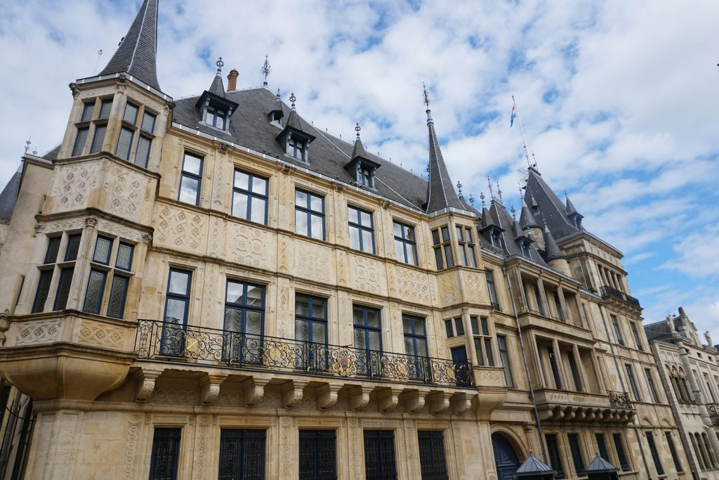 palais grand ducal luxembourg city