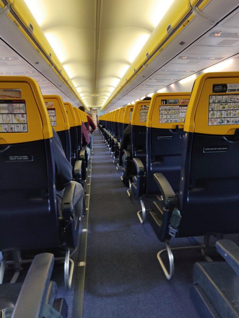 avion vide retour coronavirus