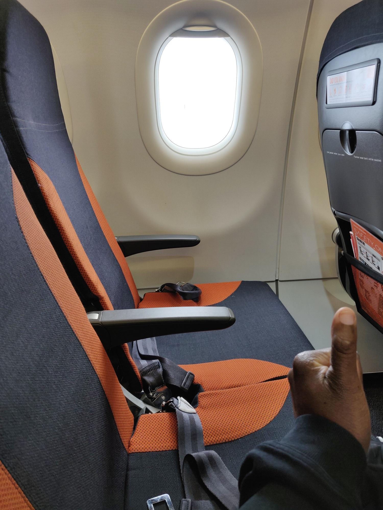 empty row airplane coronavirus
