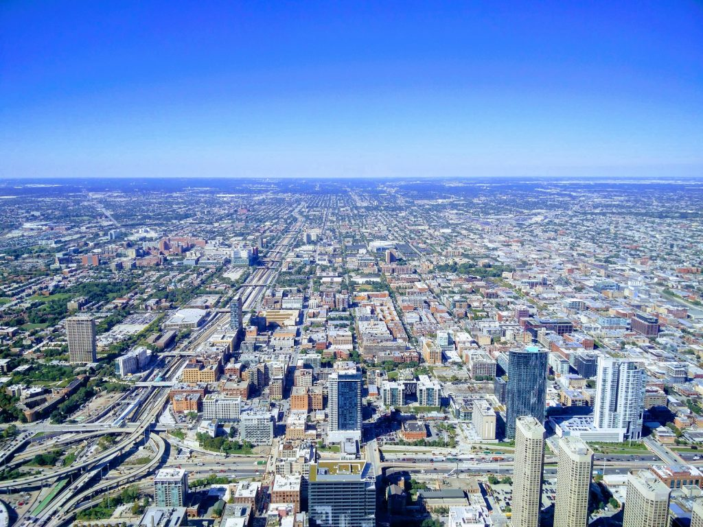 view willis tower chicago