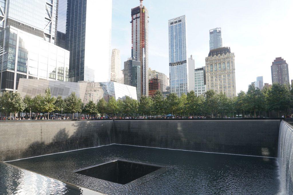 memorial du 11 septembre new york