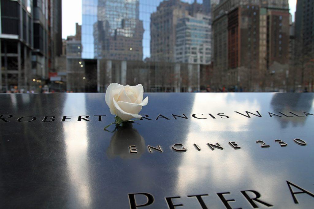 911 memorial fleur