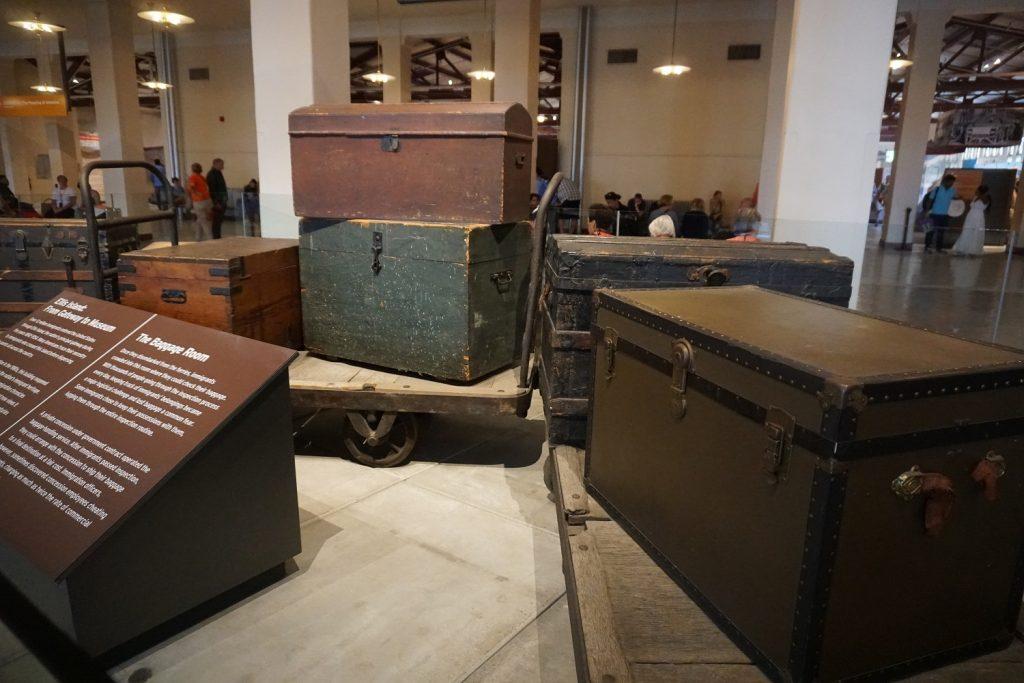 baggage room ellis island