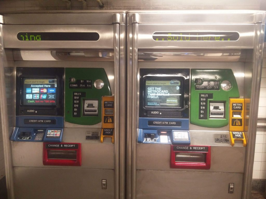 vending machine subway new york