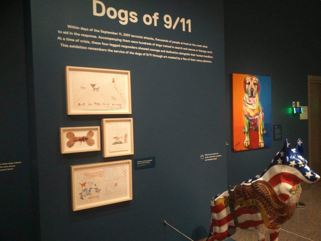 dogs of 911 memorial