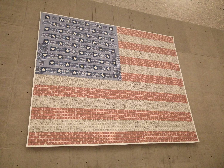 american flag 911 memorial
