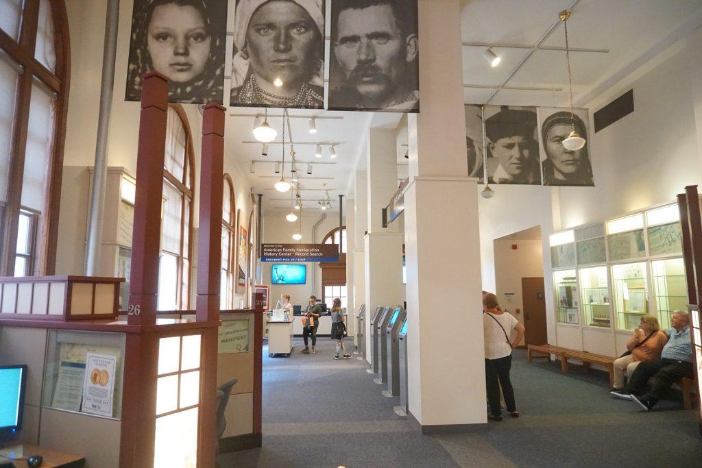 exposition histoire immigration usa ellis island