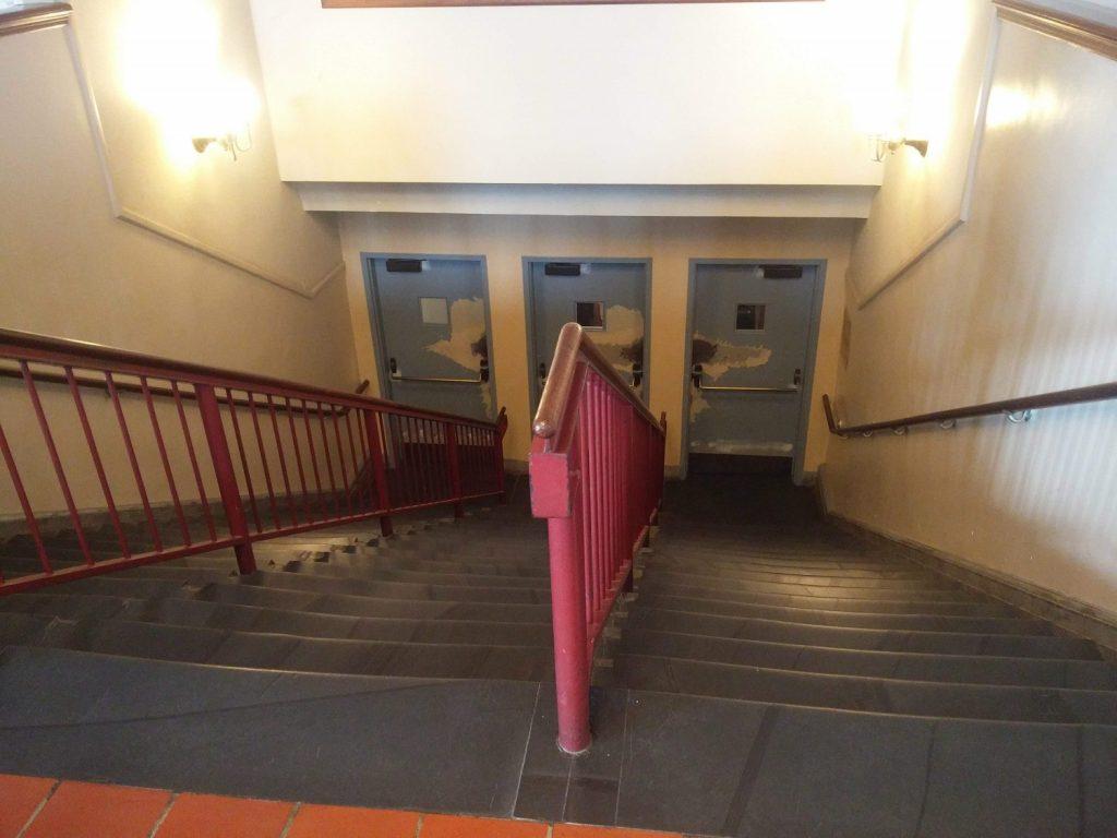 stairs of separation ellis island
