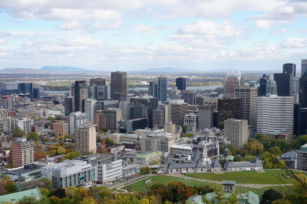 view mount royal park montreal