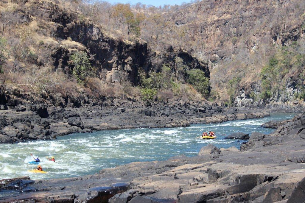 zambeze rafting