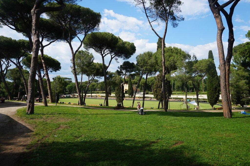 villa borghese gardens rome