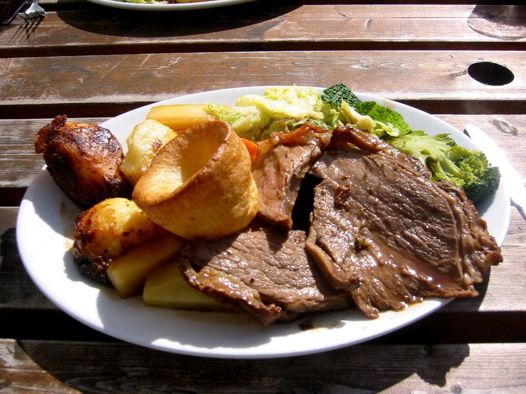sunday roast london