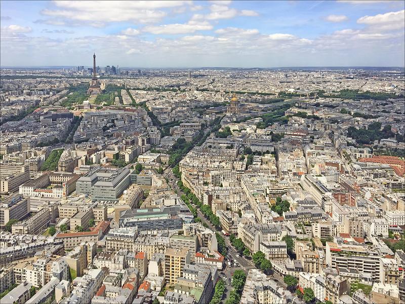 view montparnasse tower paris